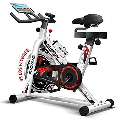 HARISON Exercise Spin Bike Indoor Cycling Bike Belt Drive