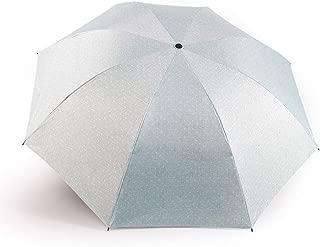 YQRYP Mini Travel Sun Rain Umbrella - Light Compact Parasol with UV Protection for Umbrella Men Women Multiple Colors Umbrella Windproof Umbrella, Golf Umbrella (Color : Green)