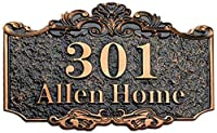 大規模な家番号レトロなヨーロッパスタイルの家番号記号パーソナライズされたドア番号プレートウォールステッカー自己接着アクリルルーム番号フロントドア番号ユニットフロアのアパートホテルヴィラ