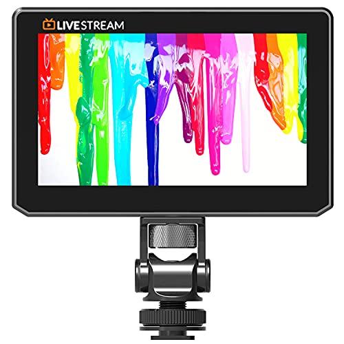VIDEOGEAR Black Mini 5 Inch camera monitor USB Live Stream 4k monitor For Dslr camera 3D-LUT HDMI Lps 1920x1080P For Live Streaming monitor