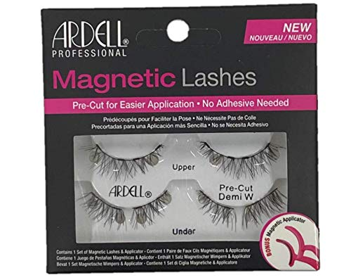 Ardell Magnetic Lash Pre-Cut Demi Wispies, 4 Pack