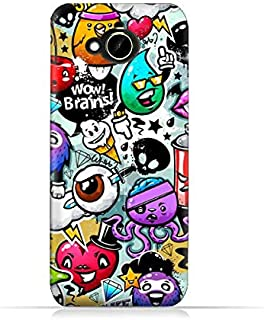 HTC Desire 10 Compact TPU Silicone Protective Case with Bizzare Charecters