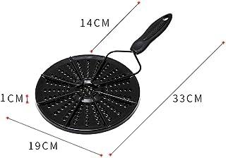iBoosila Poly Radiator Plaque de protection ignifuge pour ustensiles de cuisine en émail Plaque adaptateur à induction pou...