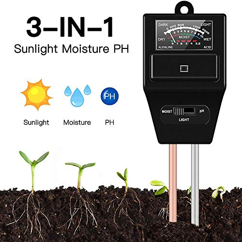 Why Should You Buy JeahoreKy Soil Moisture Sunlight Ph Test Meter,Soil Tester Meter, 3-in-1 Test Kit...