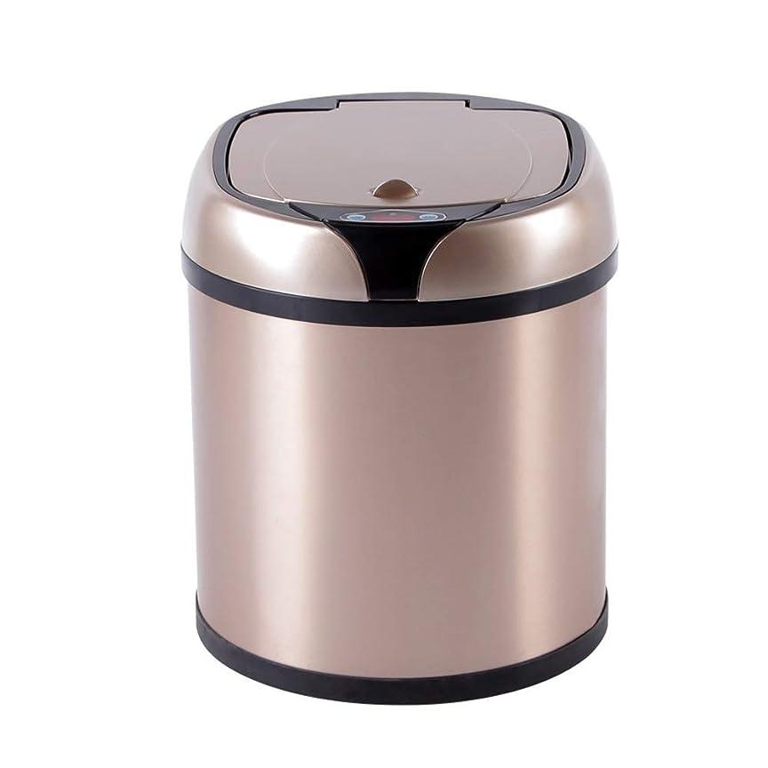 祝福するフィットネス仮定するLVESHOP 臭気制御システム、ステンレス鋼が付いているタッチレスセンサーのゴミ箱 (Size : 12L 24*24*44.5)
