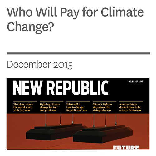 Who Will Pay for Climate Change? audiobook cover art