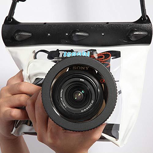Reizen snorkelen SLR camera waterdichte tas duikhoes duikhoes waterdichte tas duiken waterdichte droge tas high-definition PVC SLR camera shell 600D 40D 60D 7D 5D