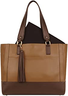 s Leather Madison Tote (Ochre)