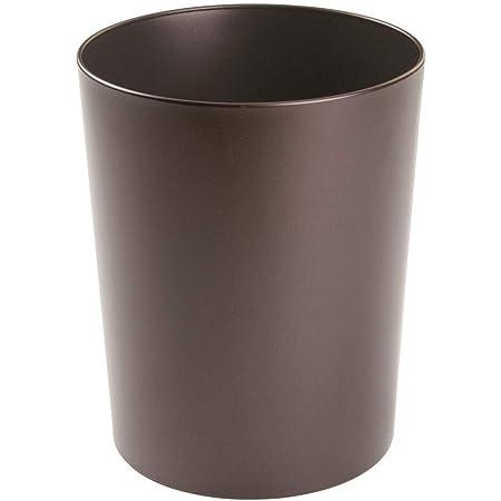 Color Verde espaciosa y Resistente para ba/ño Cocina u Oficina Papelera de Oficina Rectangular Cubo de Basura de Dise/ño Papelera pl/ástico compacta