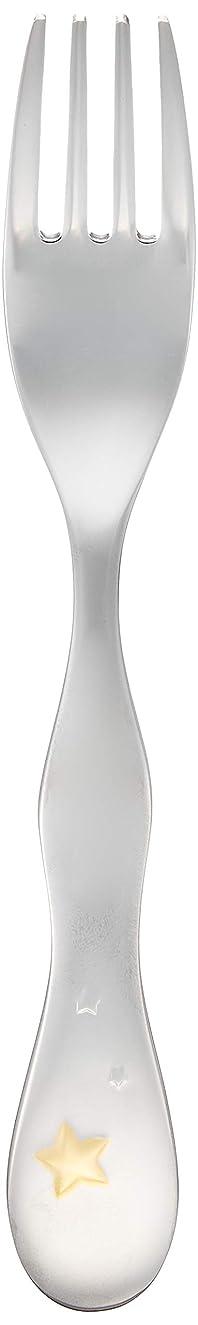 ドループレーダーショルダーNARUMI(ナルミ) 子ども用 カラトリー クラウンキッズ シャイニングスター フォーク 14cm 日本製 SK596-2