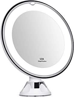 Best 15x lighted magnifying makeup mirror Reviews