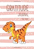 Gratitude Journal for Kids: 90 Days Diary Record to Writing, Gratitude to God every day, Theme For Boys, Psittacosaurus Dinosaur Cartoon Design (Planner Children Happiness Notebook)