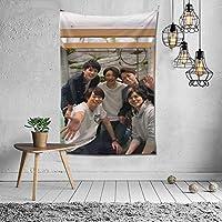 2021 嵐/あらし、アラシ Arashi タペストリー ファッションの絶妙な印刷リビングルームの入り口寝室の背景壁の装飾カスタマイズされた壁掛け布 (152*102cm)