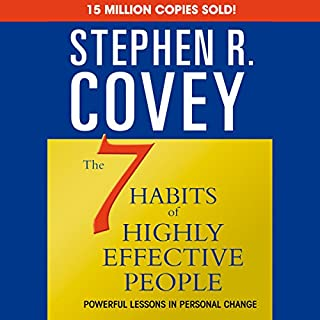 The 7 Habits of Highly Effective People & The 8th Habit (Special 6-Hour Abridgement)                   Autor:                                                                                                                                 Stephen R. Covey                               Sprecher:                                                                                                                                 Stephen R. Covey                      Spieldauer: 5 Std. und 52 Min.     48 Bewertungen     Gesamt 4,5