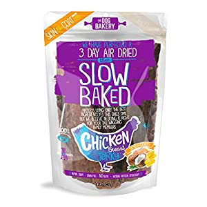 Chicken Jerky Dog Treats – Made in The USA, Human Grade, Natural, Skin & Coat