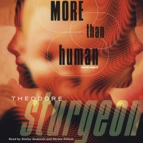 More Than Human audiobook cover art
