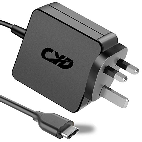 CYD 65W USB Type C PowerFast Replacement for Laptop-Charger Lenovo-Yoga 910 HUAWEI-Matebook X Pro ASUS C101PA-FS002 C302CA-GU010 ASUS-Chromebook C223NA 14-ca000na Razer-Blade 15 Lenovo C330 S330 Cord
