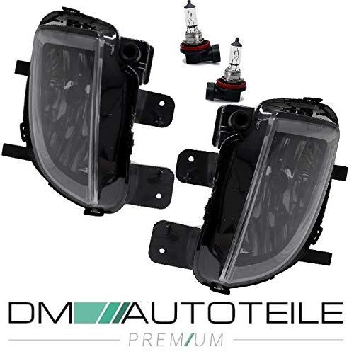 DM Autoteile SET 2x Nebelscheinwerfer Smoke Schwarz LI+RE Golf VI 6 GTI GTD Typ+H8 Birnen
