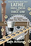How to Make Your Own Lathe, Drill Press and Table Saw