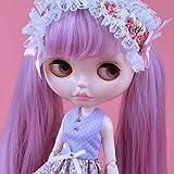 YUMMON el de 12 Pulgadas muñeca Desnuda es Similar a la muñeca del bjd Blyth, muñecos Personalizados se Pueden Cambiar Maquillaje y Vestido de muñecas DIY