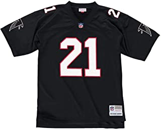 Atlanta Falcons Deion Sanders Mitchell & Ness 1992NFL Throwback réplica de la primer equipación–tamaño pequeño