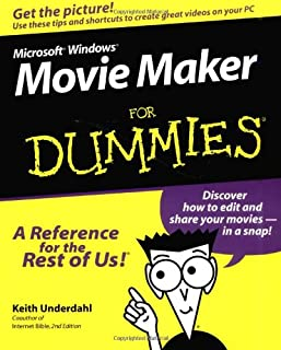 Microsoft Windows Movie Maker For Dummies