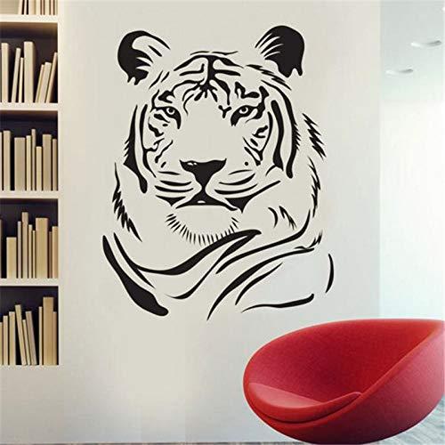 JXFM Legging Tiger Vinyl muursticker Decoratie verwijderbare muursticker keuken sticker woonkamer decoratie 59x78 cm