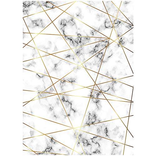 Anti-dérapant Grande Texture de Pierre Tapis de Sol Chambre Salon, Vestiaire Canapé Table Basse Zone Tapis d'absorption d'eau,A,120×160