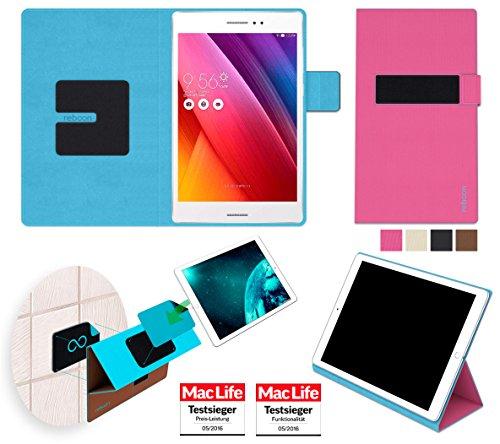 Hülle für Asus ZenPad S 8.0 Tasche Cover Hülle Bumper   in Pink   Testsieger