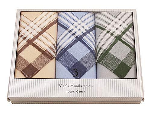 CKM Herren-Taschentuch 3er Box