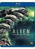 Colección aniquilación / Alien 6-Film Collection - 6-Disc Set ( Alien / Aliens / Alien 3 / Alien Resurrection / Prometheus / Alien Covenant [ Origen Danés, Ningun Idioma Espanol ] (Blu-Ray)