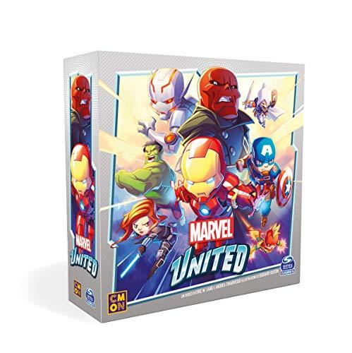Asmodee - Marvel United, Gioco da Tavolo, Edizione in Italiano, 9981