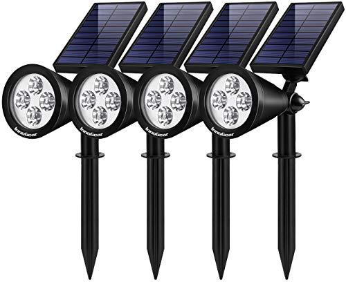 InnoGear Solar Lights Outdoor, Upgraded...