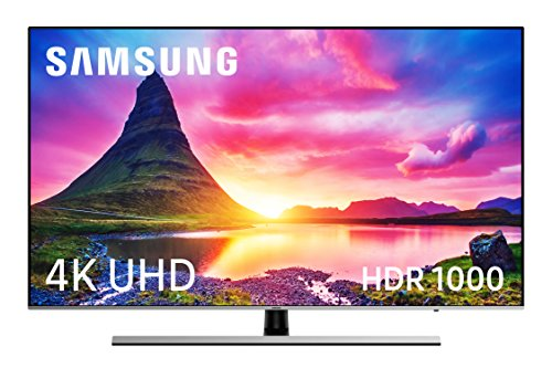 "Samsung NU8005 55"" 4K Ultra HD Smart TV Wi-Fi Nero, Argento"