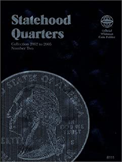 Statehood Quarters #2 (Official Whitman Coin Folder)Collection 2002 to 2005