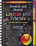Llamas & Friends Scratch & Sketch (Trace Along)