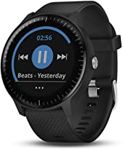 Garmin 010-01985-01 Vivoactive 3 Music, Gps Smartwatch with Music Storage and Built-In Sports Apps, Black