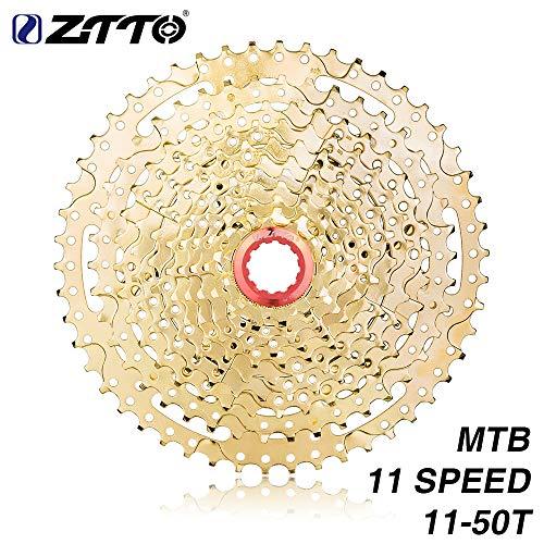 Metermall ZTTO MTB 11 Speed Cassette 11 s 11-50 t UltraLight Freewheel Mountainbike Cassette Flywheel