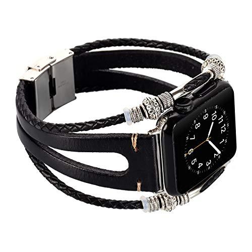 Für Apple Watch Armband 38mm Schmuck Riemen Smart Watch Perlen Armbänder Uhrenarmband Armreif für Apple Watch Series 1 2 3 Sport Nike+ Edition