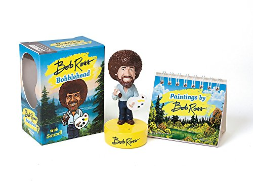 Bob Ross Bobblehead: With Sound! - fun gift idea for students