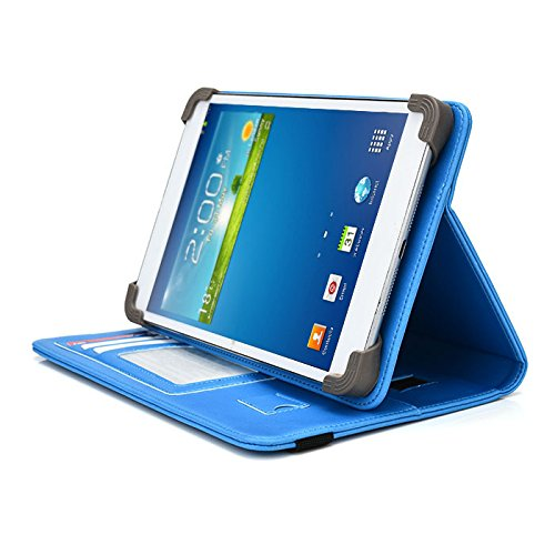 Double Power DOPO 7 Inch Tablet Case - UniGrip PRO Edition - by Cush Cases (Light Blue)