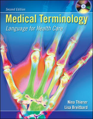 Medical Terminology: Language for Health Care with Student and Audio CD's + Flashcards