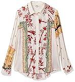 Desigual - Camisa Greta Mostaza Etnic XS