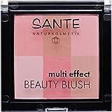 SANTE Naturkosmetik Multi Effect Beauty Blush 01 Coral