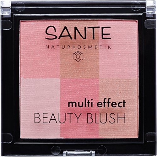 SANTE Naturkosmetik Multi Effect Beauty Blush 01 Coral, 8g