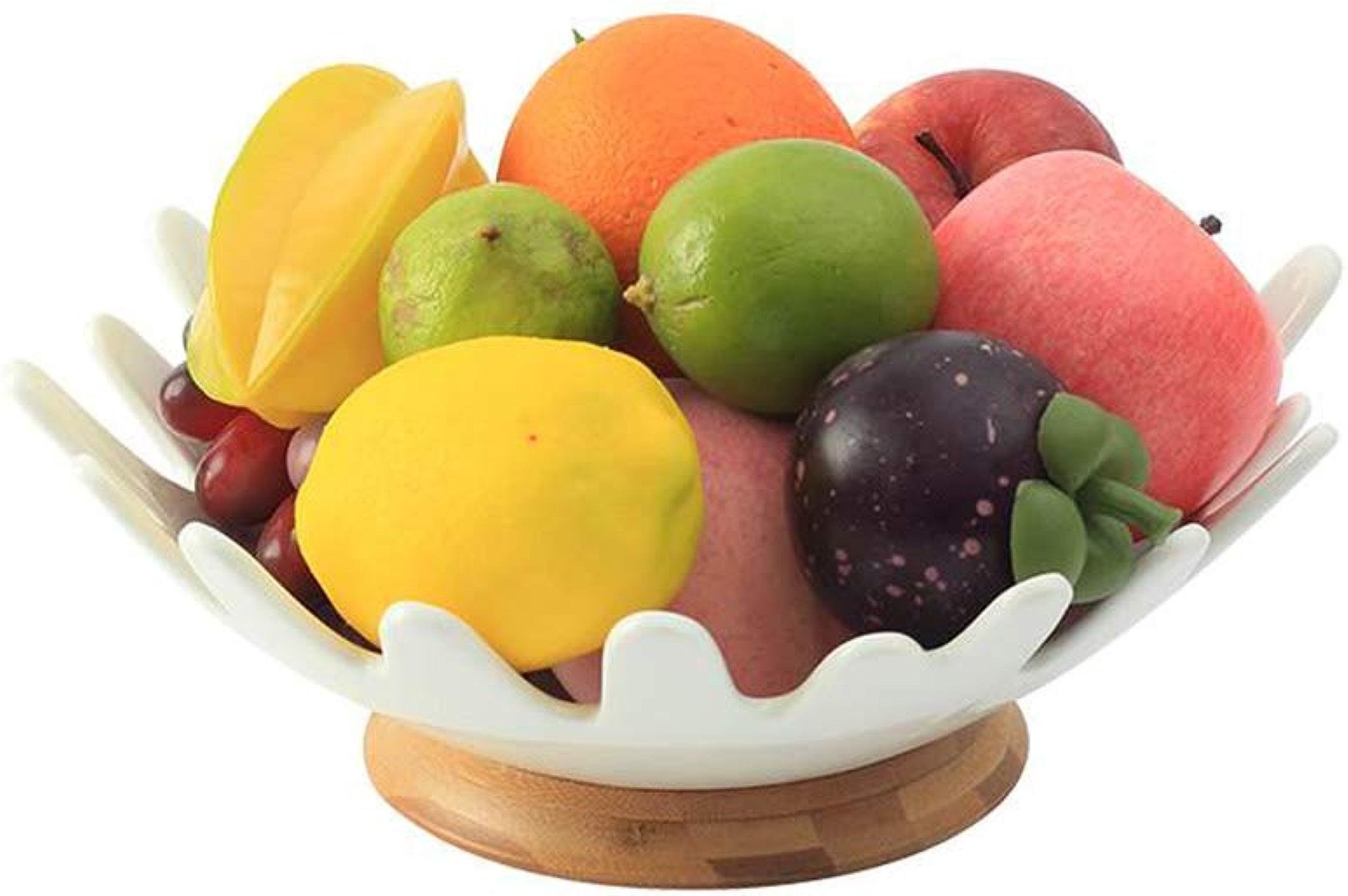 MWG Ménage Bol De Fruits Plateau De Fruits Panier De Légumes Bonbons Plateau De Biscuit Cuisine Cuisine Plat De Stockage des AliHommests (Taille   C)