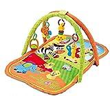Dschungel Spieldecke mit Spielbogen, Krabbeldecke 78 x 65 cm