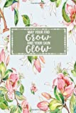 May Your Fro Grow And Your Skin Glow: Gift Journal Notebook for Activists Womens Human Rights