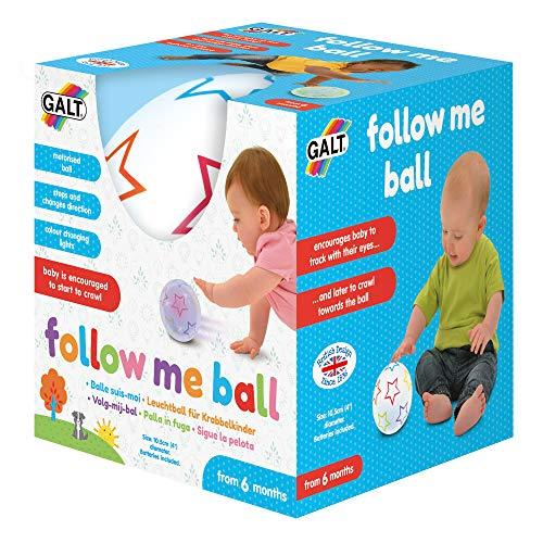 Galt Toys, Follow Me Ball, Baby Sensory Toys, Ages 6 Months Plus