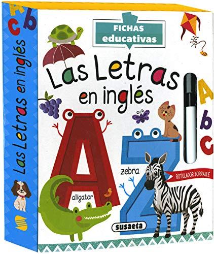La Letras En Inglés (Fichas educativas)